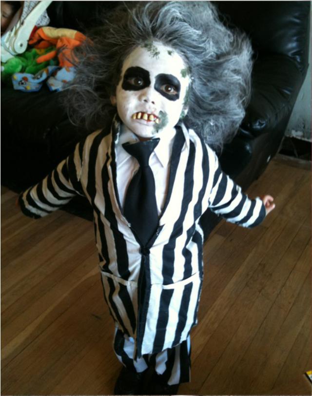 Костюм хэллоуин своими руками фото